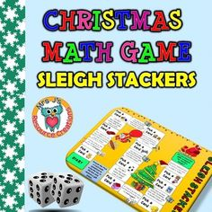 A Christmas math gift for you! Open your present to receive a fun printable board game that will get your students in the Christmas spirit and still get some math practice!The math cards provided in this pack range in difficulty and skill so that you can customize to cater for your own class needs and/or differentiate within your classroom.