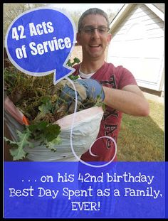 Pennies of Time: A Guys 42 Acts of Service on His 42nd Birthday!