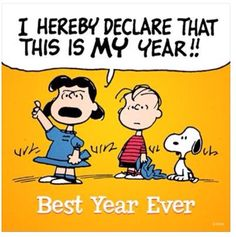 Image result for happy new year peanuts