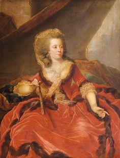 "1786 Marie-Louise-Thérèse-Victoire de France, dite ""Madame Victoire"" by Johann Ernst Jules Heinsius (Versailles) | Grand Ladies | gogm"