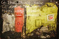 GYATRi MANTRA #abstract #painting #art