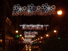 christmas street decorations lights from China