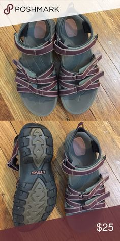 48026f1afb Sport sandals Teva sport sandals. Size women s 7 great condition! Purple  and grey.