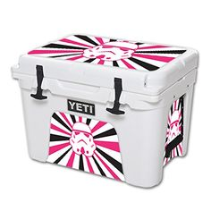 MightySkins Protective Vinyl Skin Decal for YETI Tundra 35 qt Cooler wrap cover sticker skins Pink Star Rays >>> To view further for this item, visit the image link.(This is an Amazon affiliate link and I receive a commission for the sales)