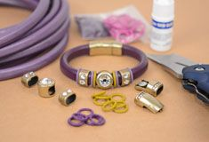 Regaliz® Leather Cord Bracelet Tutorials  supplies from Antelope.  Good list of tutes.  #Beading #Jewelry #Tutorials
