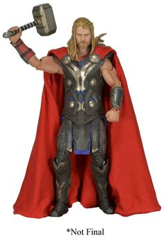 "TOY SLAYER - NECA MARVEL 1/4 SCALE 18"" Inch THOR FIGURE , $89.99 (http://www.toyslayer.com/neca-marvel-1-4-scale-18-inch-thor-figure/)"