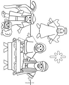 "Christmas Coloring Pages for Preschool | new, simpler nativity color page"" by mimitalks, married w/children ..."