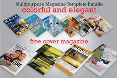 BUNDLE MULTIPURPOSE MAGAZINE  VOL. 1 by Orlin on @creativemarket