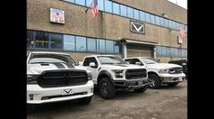 2017 Dodge Ram a confronto con 2017 Ford F150 Raptor