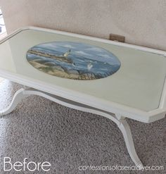 French-Inspired Coffee Table Makeover | Confessions of a Serial Do-it-Yourselfer