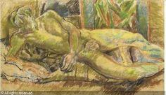 Duncan Grant - pastel drawing of David Garnett.