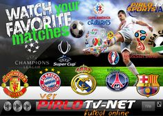 Pirlo tv online liga bbva premier league liga mx liga postobon los partidos de futbol en vivo de tus equipos favoritos real madrid barcelona manchester united gratis