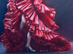 Andulucia Flamenco - by Rosemary Colyer