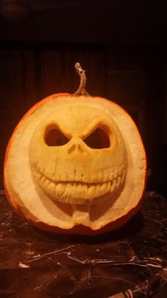 Jack is Back! was just entered into the Annual Pumpkin Carving Contest. Why not submit your carved pumpkin today? #pumpkincarving #halloween