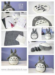 Diy Totoro pillow