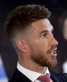 Sergio Ramos 2015. Suck his chin hair while kissing