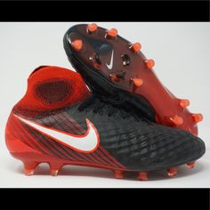 save off aa40c 81d98 Nike Shoes   Nike Magista Obra Ii Fg Mens Soccer Cleats   Color  Black Red    Size  Various