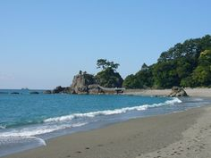 Katsurahama Beach in Kochi faces the Pacific Ocean. #beach #Shikoku #Kochi