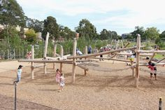 Precious Childhood: Nature Playgrounds - a place for children and families