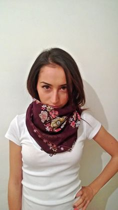 Turkish Oya Scarf Ethnic  for her  Valentines by CoruhHandicraft, $32.00