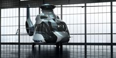 Airbus Helicopters partners with Peugeot Design Lab to design the loft lines of the H160 helicopter. The sleek, dynamic lines of the H160 represent a new aesthetic for the helicopters in the product r