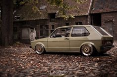H.Lorenzo Photography always puts out quality work.   A classic Mk1 sitting on face mounted BBS Motorsport wheels.