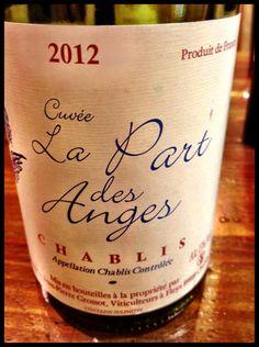 El Alma del Vino.: Domaine Corinne et Jean-Pierre Grossot Chablis Cuvée La Part des Anges 2012.