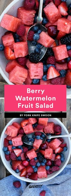 """I'll bring the fruit salad!"" will be you all summer long. #greatist https://greatist.com/eat/best-fruit-salad-recipes"