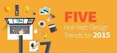 5 Bang Bang Web Design Trends cover