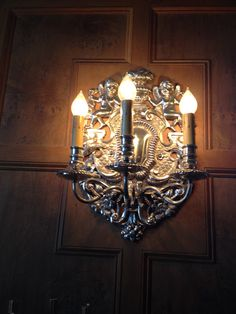 Marland Mansion sconce
