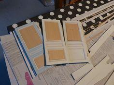 Mes travaux de maquettes de maison du xviii°, du Petit Trianon, ainsi que quelques recettes, broderies et peintures.