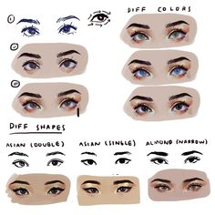 Amazing Learn To Draw Eyes Ideas. Astounding Learn To Draw Eyes Ideas. Digital Painting Tutorials, Digital Art Tutorial, Art Tutorials, Realistic Eye Drawing, Drawing Tips, Art Sketches, Art Drawings, Anatomy Drawing, Skin Drawing
