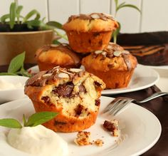 Chocolate Chunky Muffins