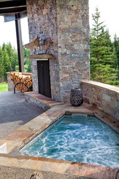 Moose Mountain Ashlar, and heights … – farmhouse fireplace tile Reface Fireplace, Tall Fireplace, Backyard Fireplace, Modern Fireplace, Fireplace Surrounds, Fireplace Outdoor, Fireplace Ideas, Fireplace Candles, Fireplace Makeovers