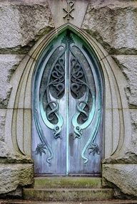 mausoleum doors Still so beautiful & Peacock Door II - The Palmer House in Chicago | Architecture ... Pezcame.Com