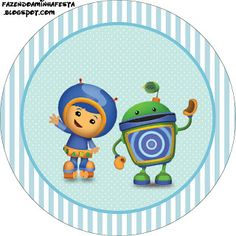 Umizoomi Boy - Full Kit with frames for invitations, labels for goodies, souvenirs and pictures! | Making Our Party