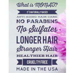 What is in your shampoo? Monat is 95% natural. http://kroyce.mymonat.com
