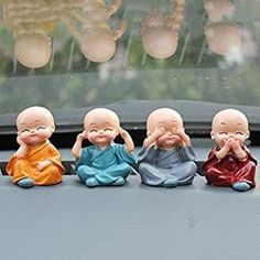CosCosX 1 Set Creative Cute KongFu Monk Buddha Resin Craft Dashboard Decorations Car Home Office Ornaments Auto Supplies Decorative Accessories Car Dashboard Accessories, Exterior Car Accessories, Kung Fu, Cute Desk Accessories, Accessories Online, Decorative Accessories, Attractive Wallpapers, Car Interior Decor, Home Decor