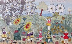 Flowers. -Henry Darger