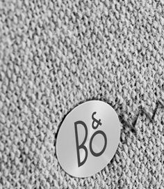Beoplay - One-point music system that fills the room with great sound. Line Patterns, Textures Patterns, Fabric Patterns, Id Design, Logo Design, Bang And Olufsen, Music System, Surface Pattern, Logo Branding