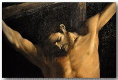 Francisco de Zurbarán (Spanish, 1598-1664) – The Crucifixion, detail. The Art Institute of Chicago.