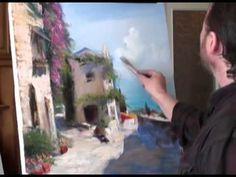 "FREE! Full video ""Italian Courtyard"" painter Igor Sakharov"