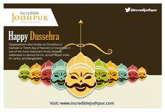 Happy Dussehra,  From- Incredible Jodhpur Team. Visit- www.incrediblejodhpur.com