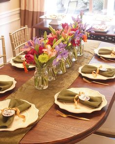 Dining tablescape from a Ladies Floral Brunch Baby Shower via Kara's Party Ideas | KarasPartyIdeas.com (13)