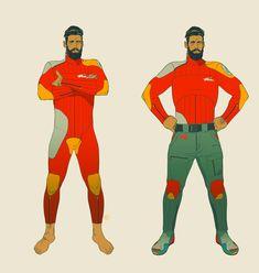 ArtStation - The Ranger, Calum Alexander Watt Character Aesthetic, Character Concept, Character Art, Concept Art, Character Reference, Film Inspiration, Character Design Inspiration, Comic Book Artists, Comic Artist