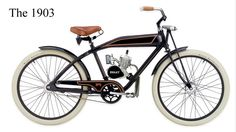 Ridley 1903 model 70cc motorcycle