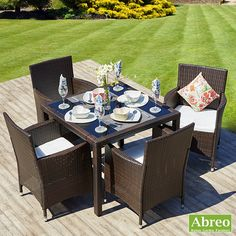 4 Seater Dining Set Http Rattan Gardenfurniture Co Uk