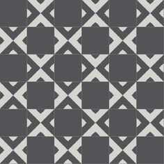 Serengeti takes on a whole different feel when mixed with solid cement tiles. Tile photo, Granada Tile.