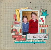 A Project by marilou64 from our Scrapbooking Gallery originally submitted 10/20/11 at 08:58 AM
