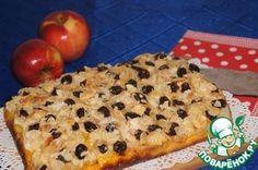 Nemecká koláč s jablkami a šafranom